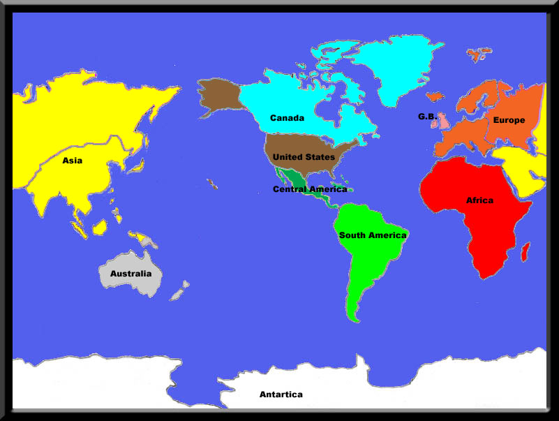 World Map for Horse Racing Tracks